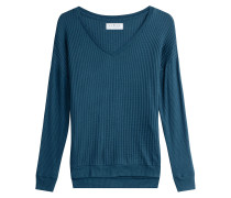 Pullover mit texturierter Oberfläche