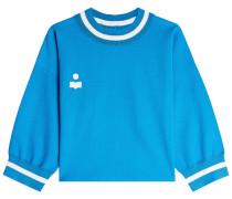Sweatshirt Dayton mit Logo-Stickerei
