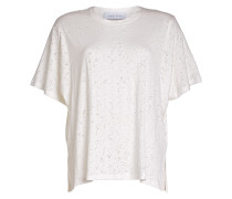 Baumwoll-Shirt im Distressed-Look
