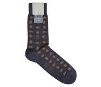 Socken mit Baumwolle und Paisley-Motiv