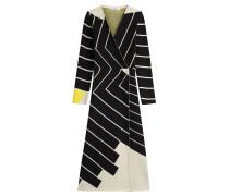 Kleid aus Fleecewolle in Wickel-Optik