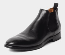 Glänzende Chelsea Boots