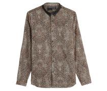 Leo-Hemd aus Baumwoll-Popeline