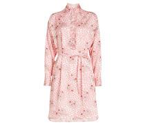 Bedrucktes Kleid Rizzo mit Plissees