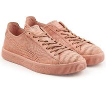 X Stamp'd Sneakers Clyde aus perforiertem Leder