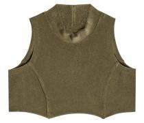 Cropped Top aus Baumwolle