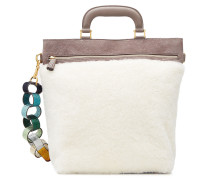 Handtasche Orsett aus Leder und Schaffell