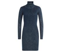Jersey-Kleid mit Rollkragen