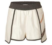 Shorts Petal Sport mit Leder