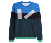 Statement-Pullover aus Baumwolle