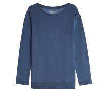 Sweatshirt mit Baumwolle und Cupro