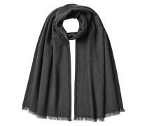 Gemusterter Schal aus Schurwolle und Kaschmir