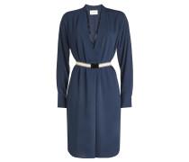 Kleid Doloras mit V-Ausschnitt und Gürtel