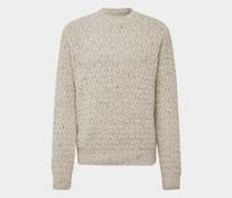 Pullover mit Strickmuster