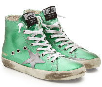 High Top Sneakers Francy mit Leder
