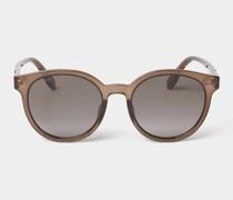 Sonnenbrille mit Bügel-Details