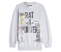 Sweatshirt aus Baumwolle mit Print