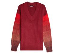 Pullover aus Kamelhaar im Color Block Look