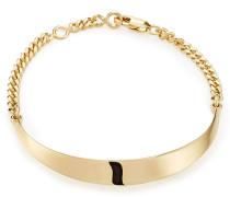 Armband aus goldfarbenem Messing