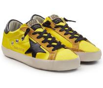 Sneakers Super Star aus Satin