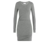 Drapiertes Jersey-Kleid