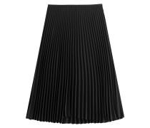 Plissierter Midi-Skirt