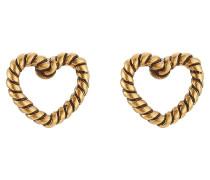 Ohrstecker Rope Heart Studs