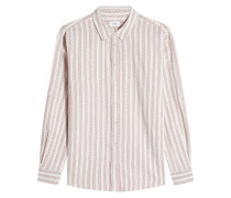 Gemusterte Bluse aus Baumwolle