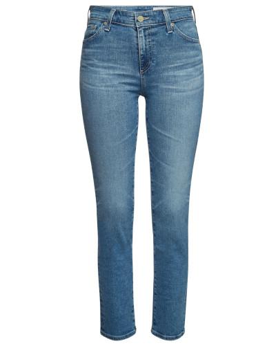 High Rise Straight Leg Jeans Mari