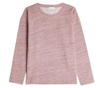 Meliertes Sweatshirt aus Baumwolle
