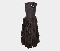 Ärmelloses Kleid mit Applikationen