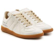 Beschriftete Sneakers Replica aus Textil
