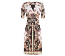 Wrap-Dress aus Jersey-Stretch mit Print