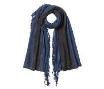 Schal mit Mohair und Wolle