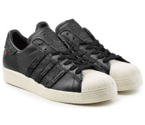 Sneakers Superstar 80\'s Chinese New Year aus Leder