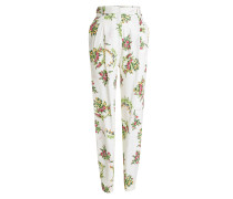 Straight Leg Pants mit Print