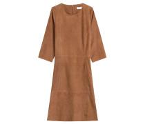 Veloursleder-Kleid