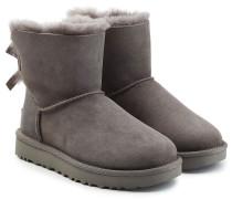 Boots Mini Bailey Bow aus Veloursleder