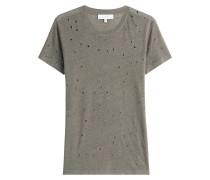 Leinen-Shirt im Distressed-Look