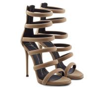 Riemchen-Sandalen mit Stiletto-Absatz