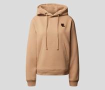 Hoodie mit Brand-Stitching