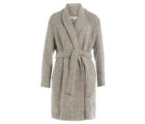 Mantel mit Wolle, Alpaka und Mohair