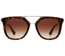 Geometrische Sonnenbrille