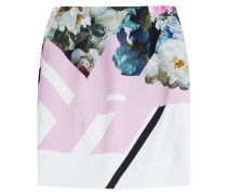 Pencil-Skirt aus Jersey mit Print