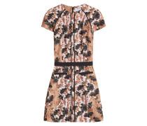 Print-Kleid mit Zierborten