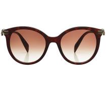 Verzierte Sonnenbrille mit Muster