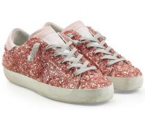 Sneakers Super Star aus Leder mit Décor