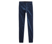 Skinny Pants aus Samt