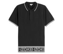 Polo-Shirt aus Baumwolle mit Logo-Print