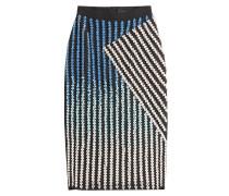 Pencil-Skirt mit Schmucksteinen